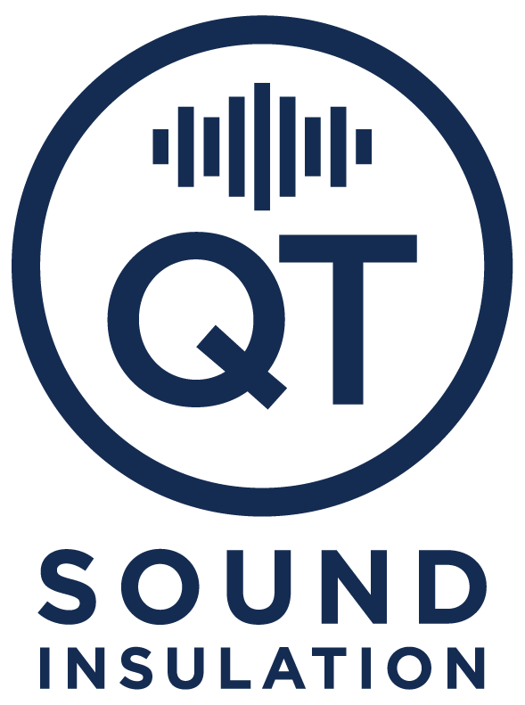 Logo: QT Sound Insulation: Original, Tested, Guaranteed.