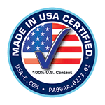 Made in the USA Certified - 100% U.S content - USA-C.com - PA00AA.2773.01